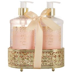 Good Housekeeping Rosewater & Peony Hand Soap & Lotion Set