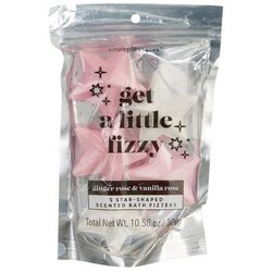 Simple Pleasures Get A Little Fizzy 5-pc. Star Bath Fizzers