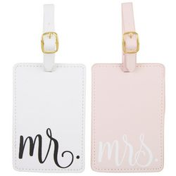 Jade & Deer Mr. & Mrs. Luggage Tags