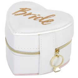Jade & Deer Bride Zippered Jewelry Box