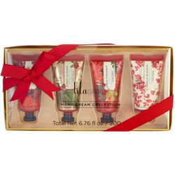 Lila Grace 4-pc. Holiday Hand Cream Collection