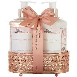 Adrienne Vittadini Hydrangea Peony Scented Soap & Lotion Set