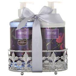 Simple Pleasures Lavender & Hydrangea Hand Soap & Cream Set