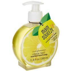 Simple Pleasures Main Squeeze Lemon Hand Soap Dispenser