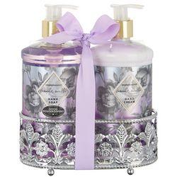 Simple Pleasures Lavender Vanilla Soap & Lotion Caddy Set