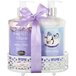 Simple Pleasures Winter Snow Hand Soap & Cream Set