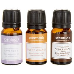 Scentuals 3-pk. Relax & De-Stress Essential Oil Set