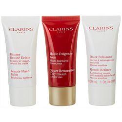 Clarins Womens Restorative 50+ Anti-aging 3-pc. Set