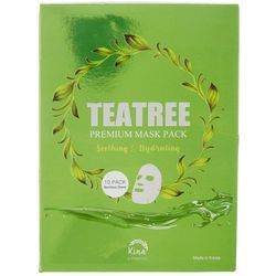 Kina Cosmetics 10-pk. Tea Tree Premium Face Masks