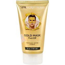 SpaScriptions Mens Gold Peel-Off Face Mask