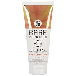 Bare Republic Sparkling Rose SPF 30 Shimmer Sunscreen Lotion