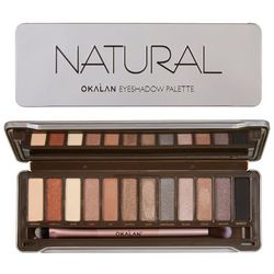 Okalan Natural Eyeshadow Palette