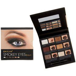 Okalan Smokey Eyes Brown Shades Eyeshadow Palette