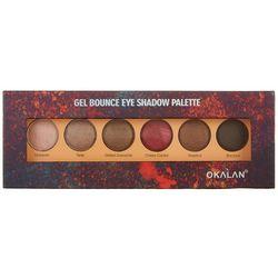 Okalan Gel Bounce Fiery Eyeshadow Palette