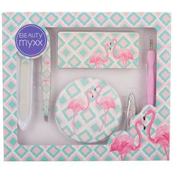Beauty Myxx Pink Flamingo 6-pc. Manicure Set