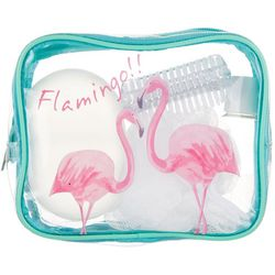Accessory Myxx Pink Flamingo 5-pc. Bath Accessory Set