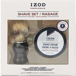IZOD Mens Perform X 2-pc. Shave Cream Set