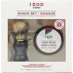IZOD Mens Classics 2-pc. Shave Cream Set