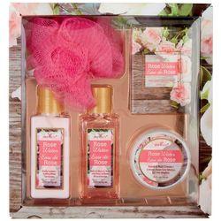 Pure Spa 5-pc. Rose Water Bath & Body Travel Set