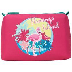 Stella & Max Flamingo Island Cosmetic Bag