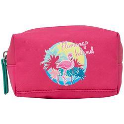 Stella & Max Flamingo Island Makeup Bag