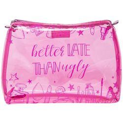 Stella & Max Better Late Makeup Bag