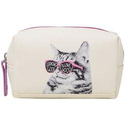 Stella & Max Looking Good Feline Good Small Cosmetic Bag