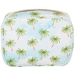 Under 1 Sky Sky Palms Square Cosmetic Bag