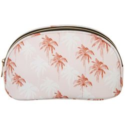 Under 1 Sky Stranded Palm Tree Wedge Cosmetic Bag