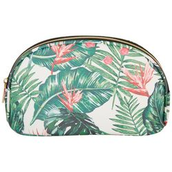 Under 1 Sky Century Palm Wedge Cosmetic Bag