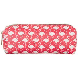 Under 1 Sky Flamingo Printed Cosmetic Bag
