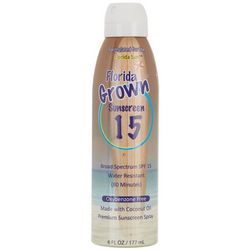 Florida Salt Scrubs Florida Grown SPF 15 Sunscreen Spray