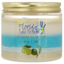 Florida Salt Scrubs Large Key Lime Sea Salt Scrub