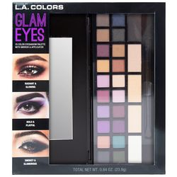 L.A. Colors Cosmetics Glam Eyes 25 Color Eyeshadow Palette