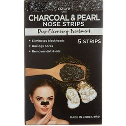 Azure Kosmetics Charcoal & Pearl Deep Cleansing Nose Strips