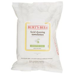 Burt's Bees Sensitive Skin Facial Cleasing Towelettes