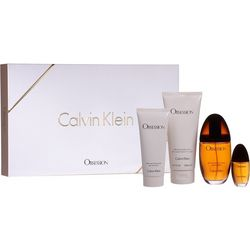 Calvin Klein Womens 4-pc. Obsession EDP Gift Set