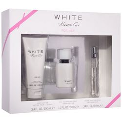 Kenneth Cole White Womens 3-pc. EDP Set
