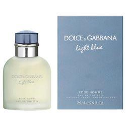 Dolce & Gabbana Mens Light Blue 2.5 fl. oz.