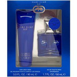 Marc Ecko Blue Mens 2-pc. EDT Spray & Body Wash Set