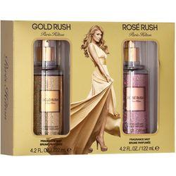 Paris Hilton Gold Rush & Rose Rush Womens Fragrance Set
