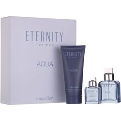 Calvin Klein Eternity Aqua Mens EDT Spray Set