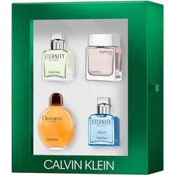Calvin Klein Mens 4-pc. Fragrance Set