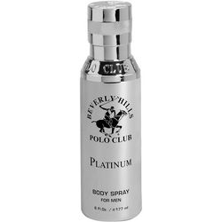 Beverly Hills Polo Club Platinum Mens 6 fl. oz. EDT Spray