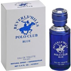 Beverly Hills Polo Club Blue Mens 3.4 fl. oz. EDT Spray