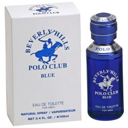 Beverly Hills Polo Club Blue Mens 3.4 fl. oz. EDT Spray