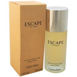 Calvin Klein Escape Mens 3.4 fl. oz. EDT Spray