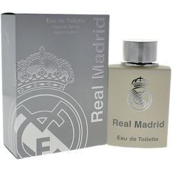 Real Madrid Mens Eau de Toilette Natural Spray 3.4 oz.