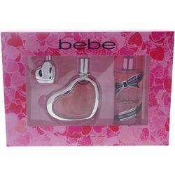 Bebe Womens 3-pc. Perfume Set