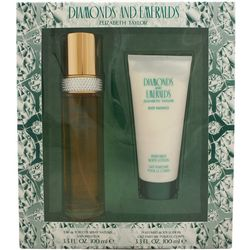 Elizabeth Taylor Diamonds & Emeralds Womens Gift Set